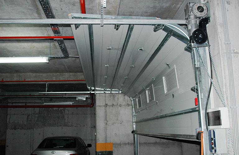 Garaj Kapısı Mekanizması