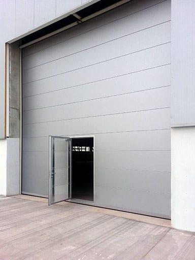Gray Industrial Door