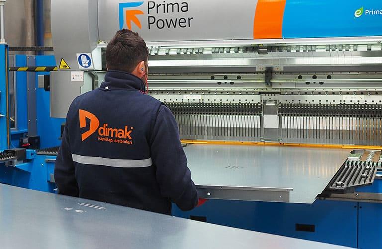 Dimak Factory Industrial Door Production