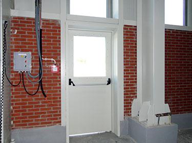 Dimak Fire Door-Kolin Construction