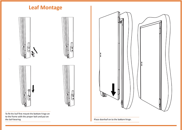 Fire Door Leaf Montage