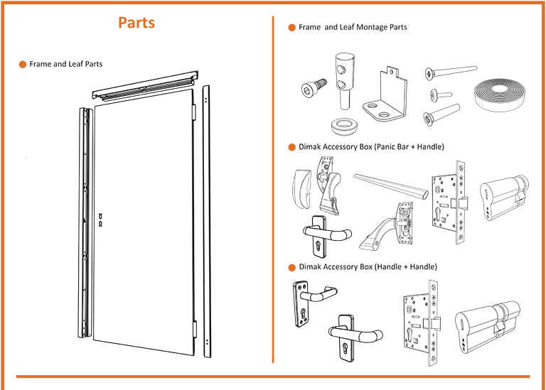 Fire Door Parts Dimak