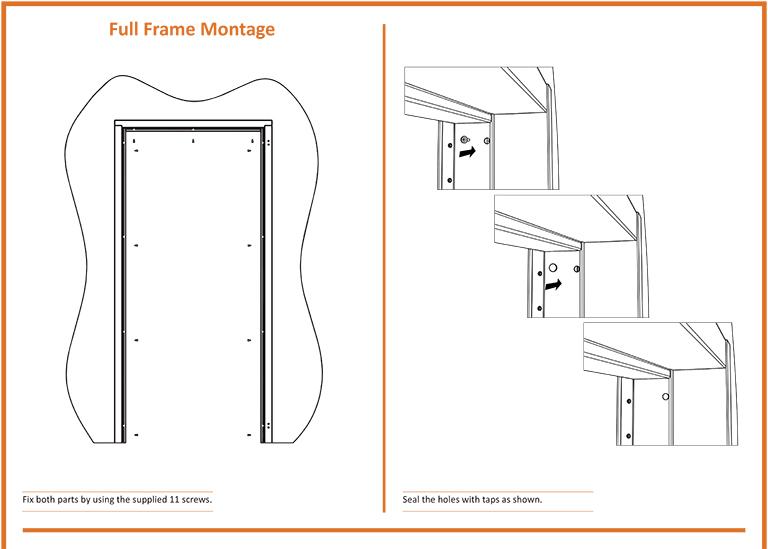 Full Frame Fire Door Montage