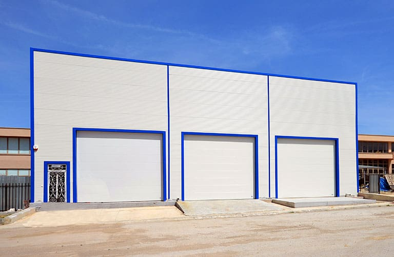 Industrial Factory Door