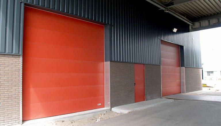 Industrial Fire Doors Production