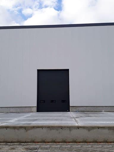 Dark Gray Industrial Door